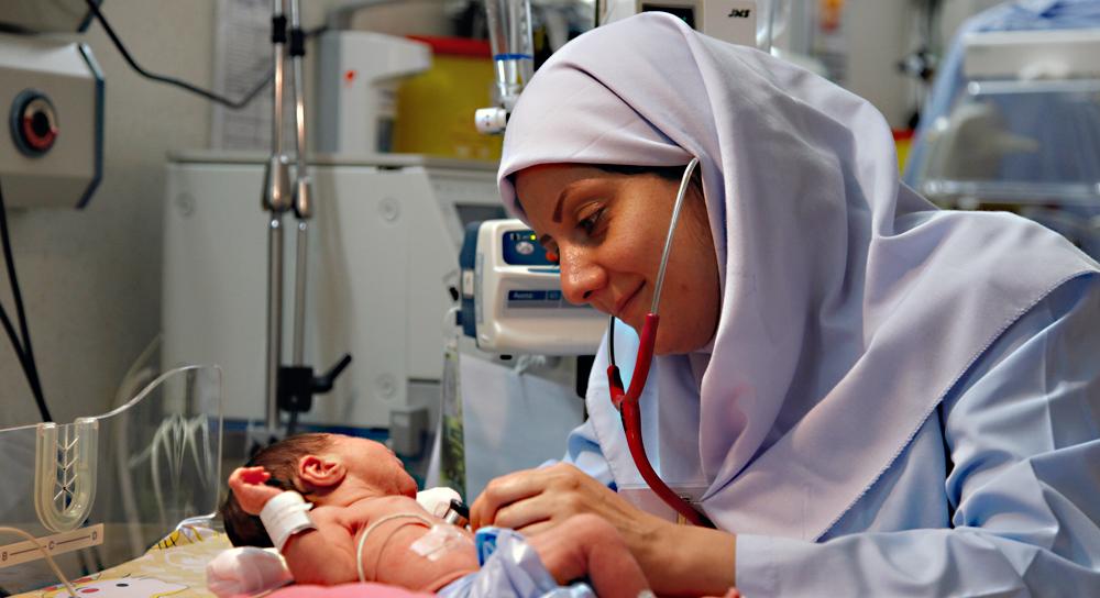 طبيبة مسلمة