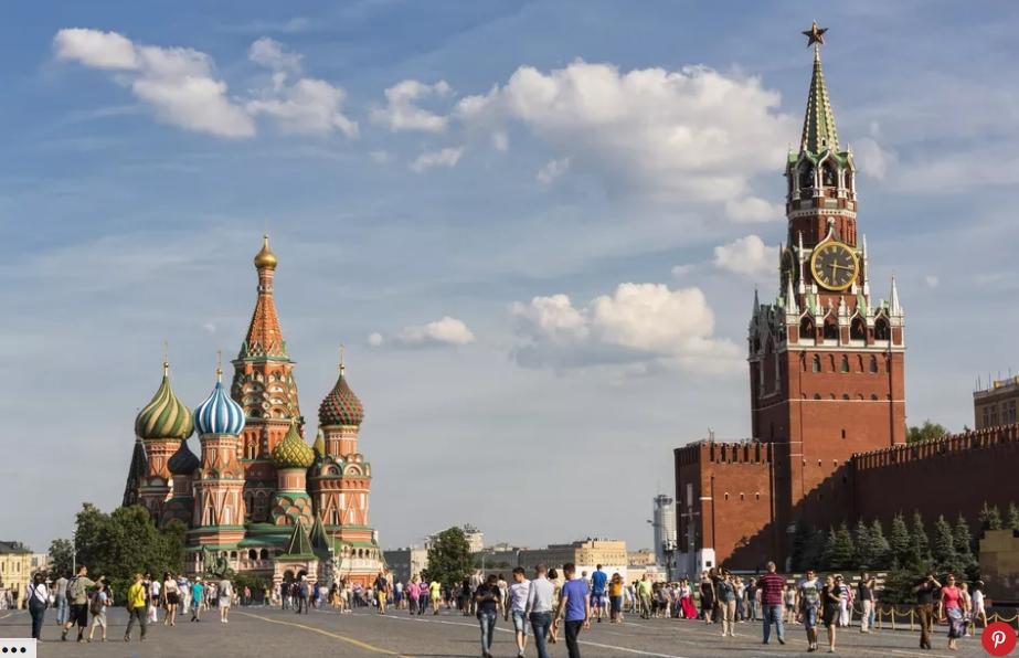السفر إلى روسيا في الصيف